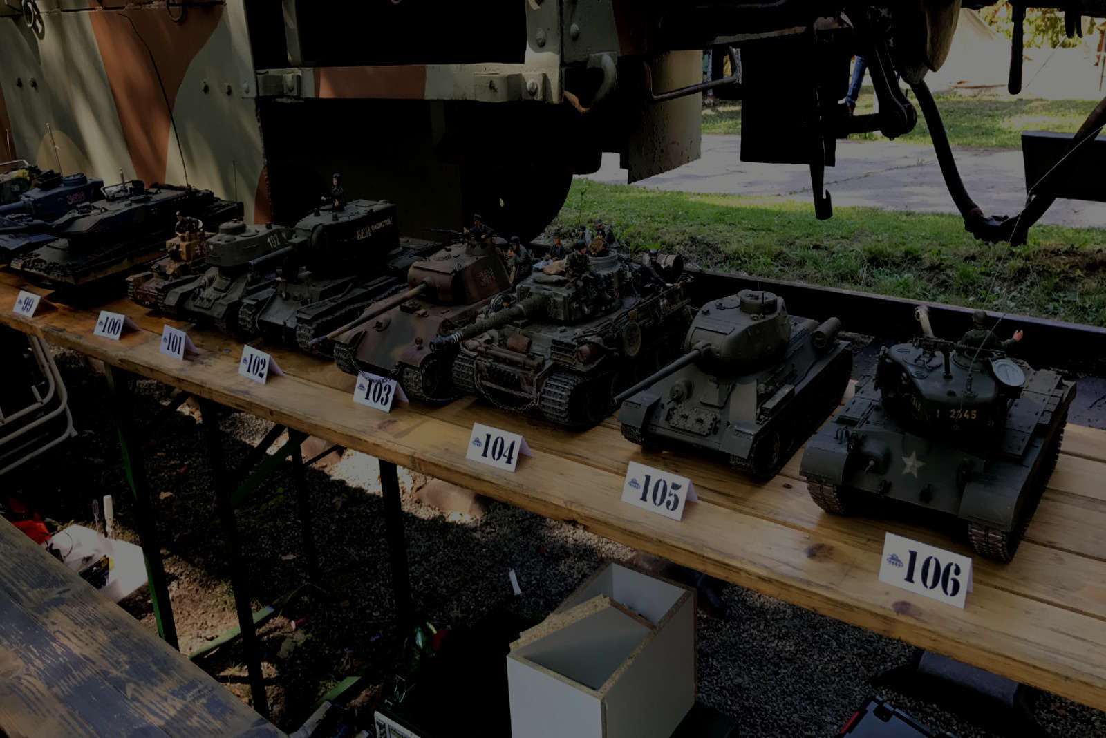 Official record, 118 RC tank models =